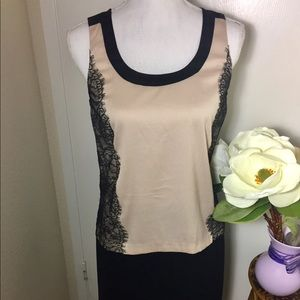 Ann Taylor Blouse with lace